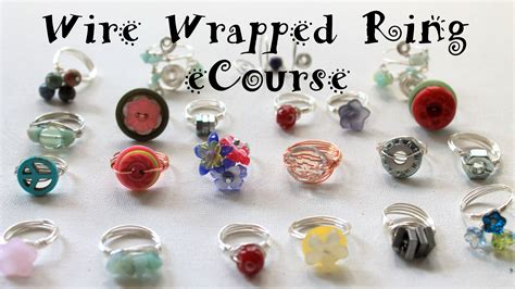 how to make rings out of wire and ect tv episode 22 how to make a bead dangle ring and