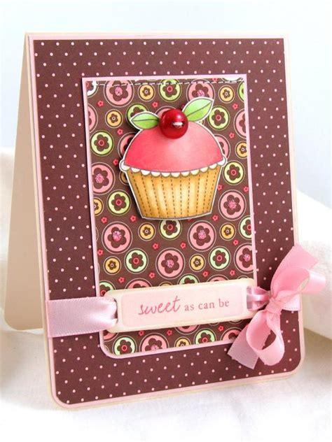cupcake cards to make handmade cupcake card hgtv