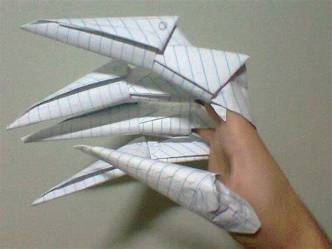 paper claw origami origami claws by victorreissobreira on deviantart