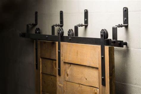 overhead sliding door hardware best 25 bypass barn door hardware ideas on