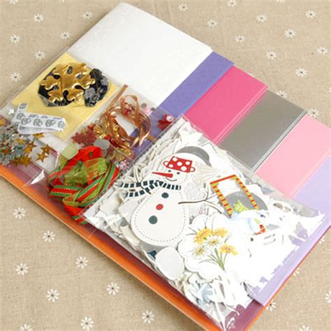 greeting card supplies handmade cards handmade diy material package s day