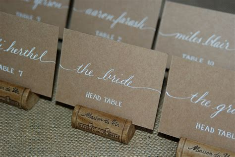how to make table name cards cards wedding name place cards table cards custom
