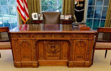 the oval office desk watches urinate on oval office in