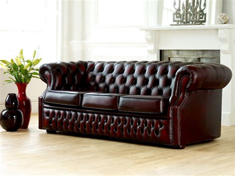 leather chesterfield sofas richmount leather chesterfield sofa sale items