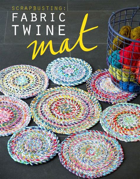 fabric craft projects 25 best ideas about scrap fabric projects on