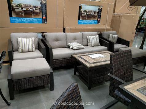 seating patio furniture sets agio international 6 seating set