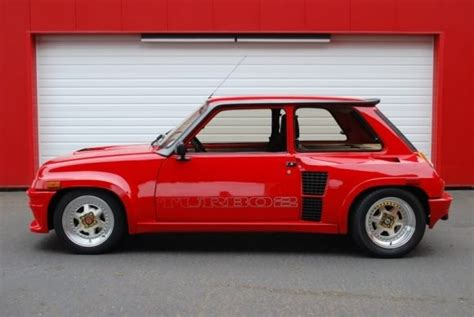 Renault 5 Turbo For Sale Usa by Contact Patch Pristine 1985 Renault R5 Turbo Ii Bring A