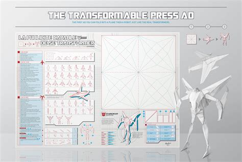 how to make an origami robot an origami transformers ad you can fold into a plane and