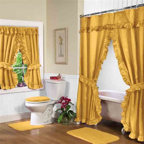 bathroom curtain sets for showers and windows swag shower curtain sets decor ideasdecor ideas