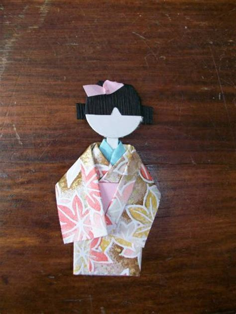 origami geisha origami geisha doll by stingooddeeds cards and paper