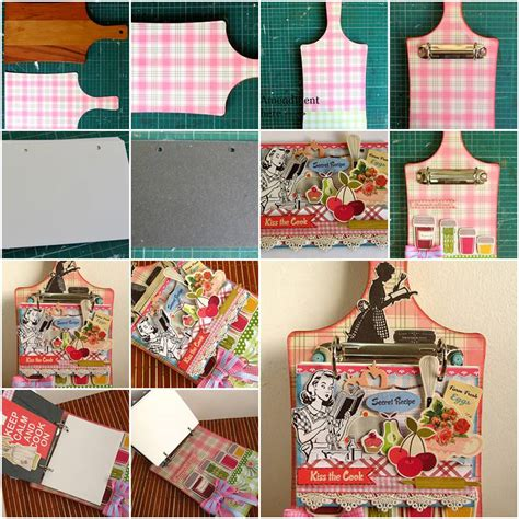 handmade paper crafts tutorial how to make creative handmade cookbook step by step diy