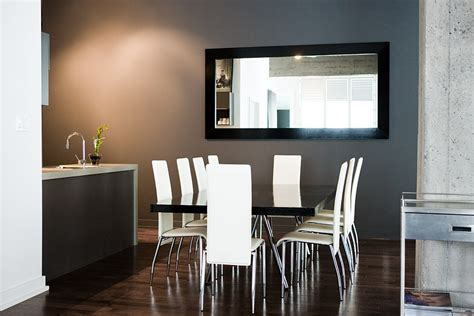 mirrors in dining room contemporary mirrors for dining room layout with modern