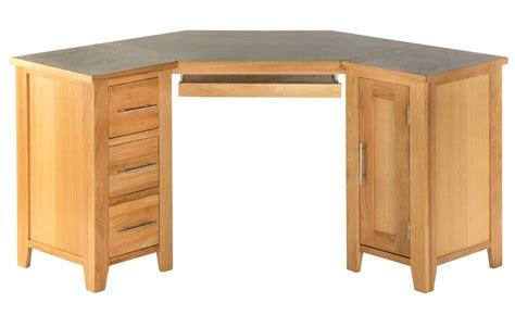 oak corner computer desks for home office
