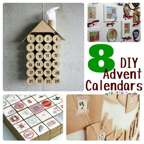 calendar crafts for 8 diy advent calendars my craftily after