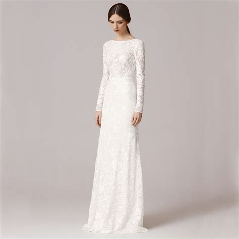 wedding gown with aliexpress buy fw1252 vintage lace sleeves
