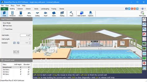home design software nch drelan home design landscape