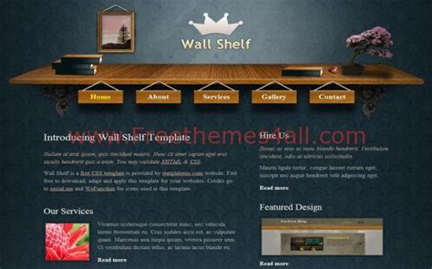 woodwork websites free wood patterns blue css website template freethemes4all
