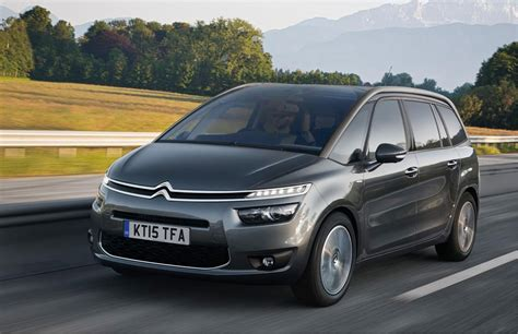 Citroen C4 Grand Picasso by Citroen C4 Picasso And Grand Picasso By Car Magazine