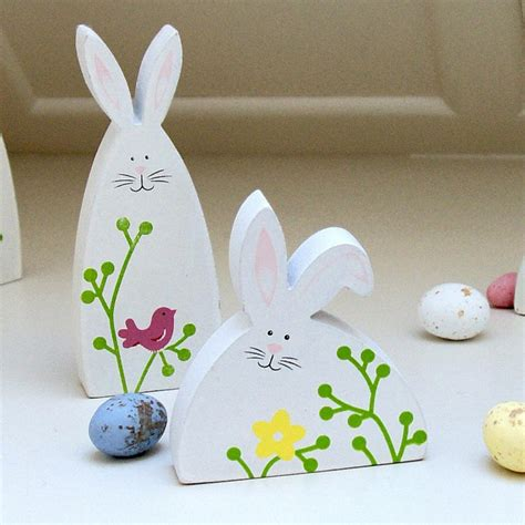 decorations made easter decor made of wood this wooden ornaments decorate