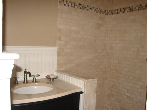 how to install a bathroom shower how to install tile in a bathroom shower hgtv