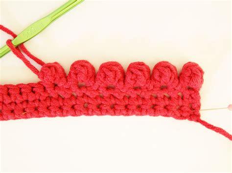 crochet tutorial heidi bears crocheted bobble edging tutorial