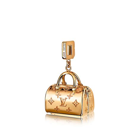 charms and speedy empreinte charm yellow gold jewellery