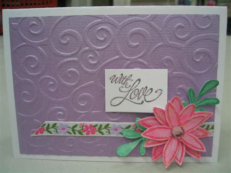 card embossing wonderful just another weblog