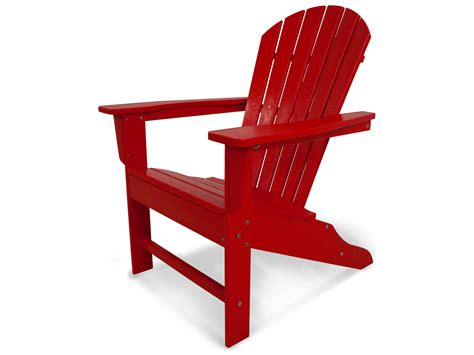 Vinyl Adirondack Chairs by Polywood 174 South Recycled Plastic Adirondack Chair