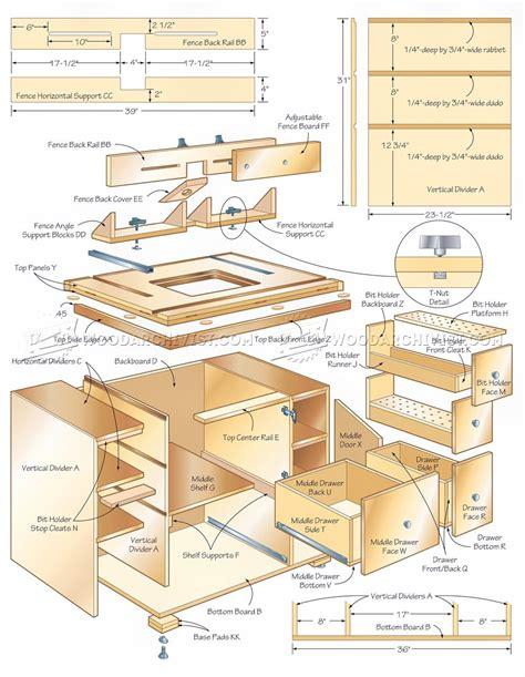 router plans woodworking free router table cabinet plans woodarchivist