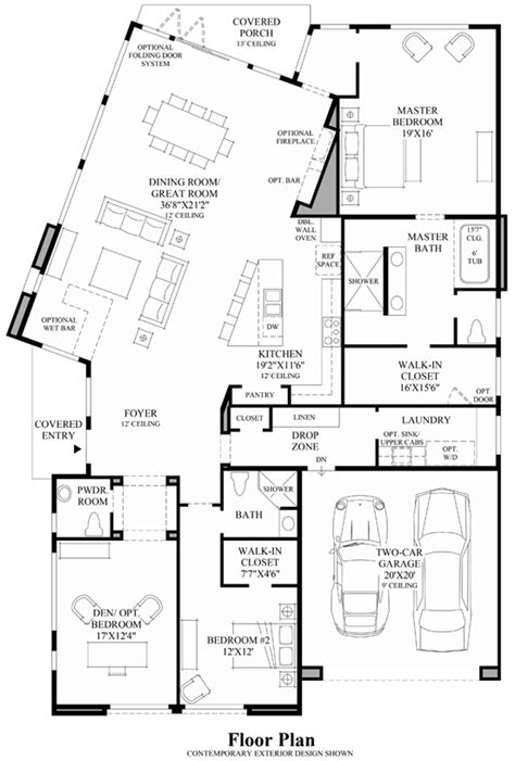 mid century modern floor plans two story mid century modern house plans