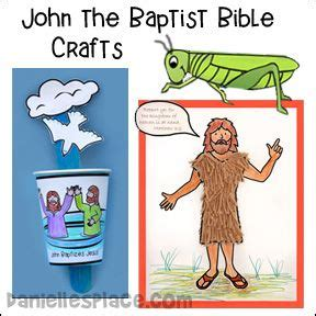 baptist crafts for bible crafts the baptist and crafts on