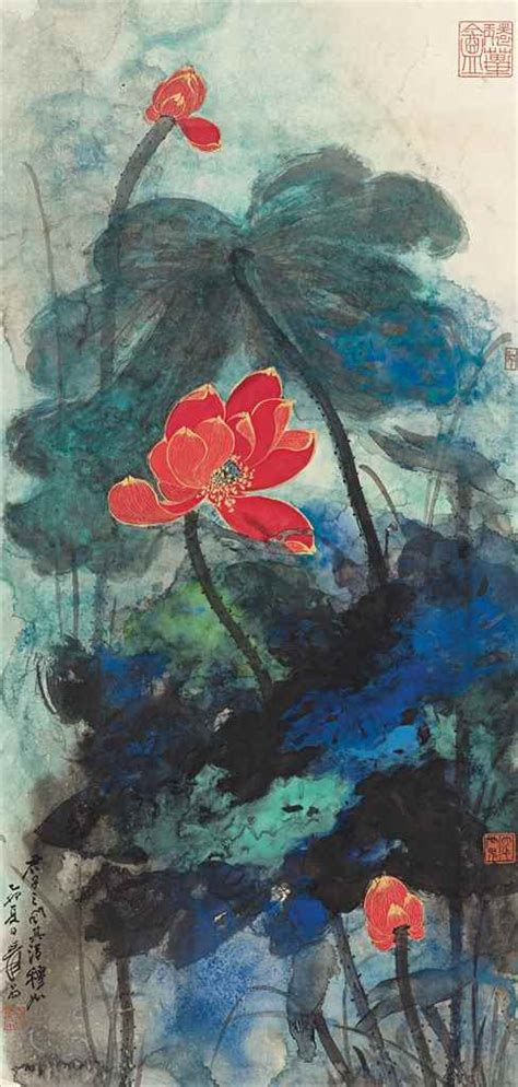 znag painting 10 things to about zhang daqian christie s