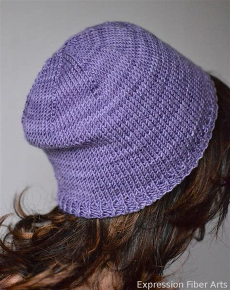 knitted hat patterns easy an easy knitted hat pattern formula expression fiber