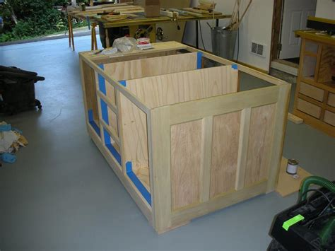 building a kitchen island with cabinets kitchen island cabinet or work bench mick martin woodworking