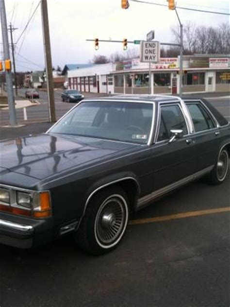 manual cars for sale 1988 ford ltd crown victoria electronic throttle control purchase used 1988 ford ltd crown victoria lx sedan 4 door 351 v8 in taylor pennsylvania