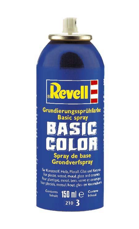 spray paint basic revell 150ml basic color primer spray 39804
