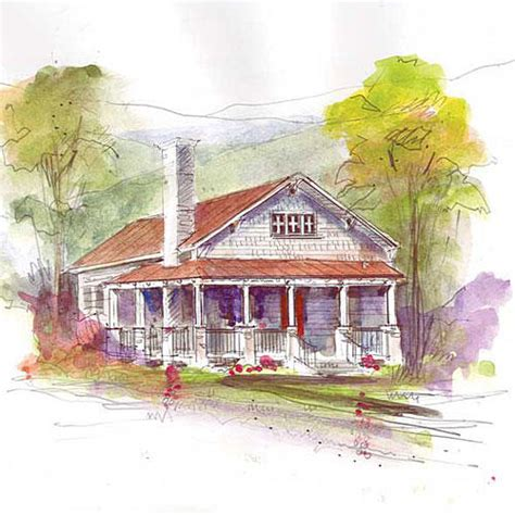 whisper creek house plan southern living home collection southern living