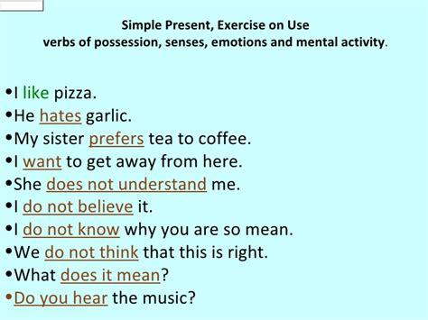 preguntas en presente simple con verbos irregulares presente simple