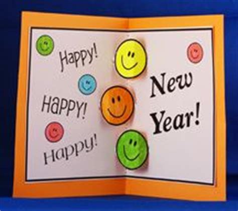 happy new year crafts for happy new year card handmade for merry