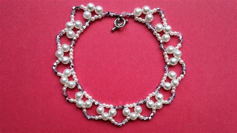 simple beaded necklace designs easy handmade beaded necklace designs my crafts