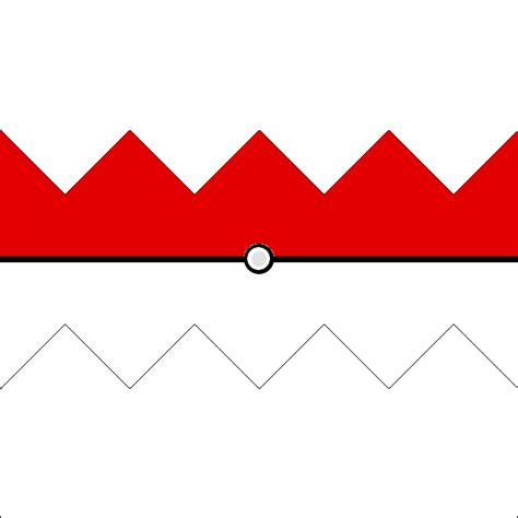 how to make an origami pokeball regular pokeball printout for paper pokeball by