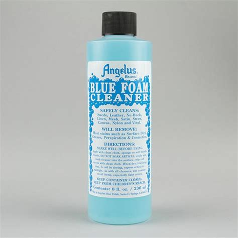 angelus paint on mesh angelus blue foam cleaner for leather suede nubuck mesh