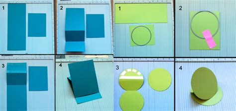 how to make flip card tutorials for fancy folding cards free guide