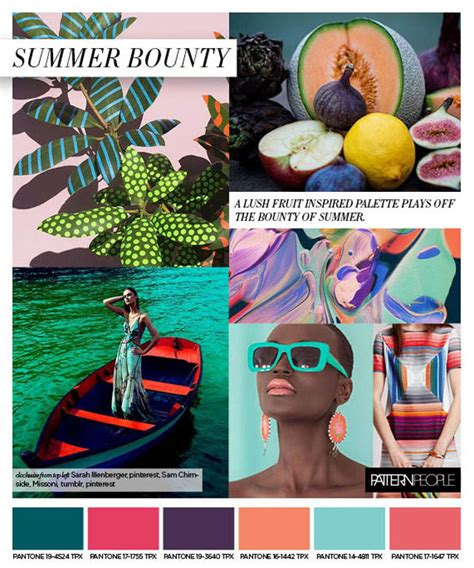 colors summer 2017 trends summer s print and color trends s s