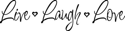 live laugh and live laugh vinyl decal wall stickers letters words