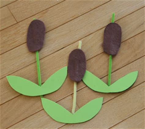 pond crafts for cattails craft all network