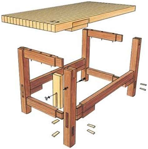 woodworking bench dimensions workbench plans gentlemint