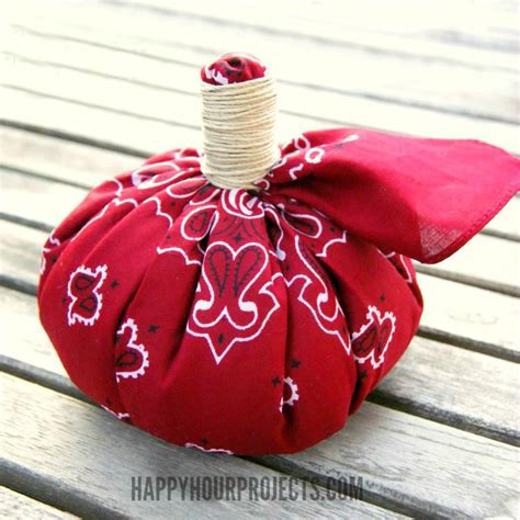 no sew crafts for no sew bandana crafts pumpkin happy hour projects