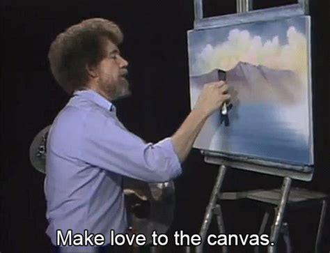 bob ross painting gif bob ross gif images