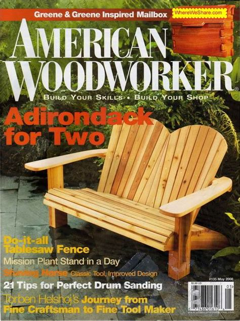 american woodworker american woodworker may 2008 135 pdf magazine